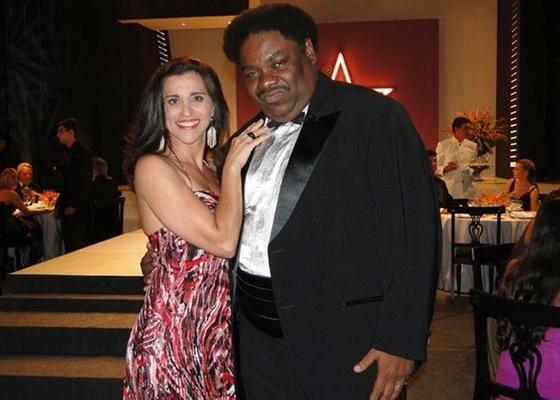 Andréa Bassit e Serjão Loroza em cena de Passione (14/1/11)