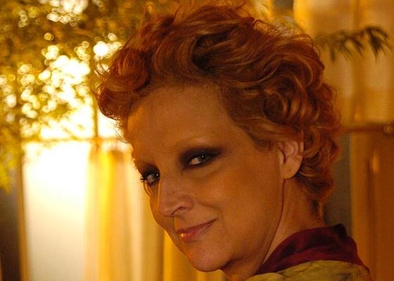 Betty Lago em cena de Cinquentinha (dez/2009)