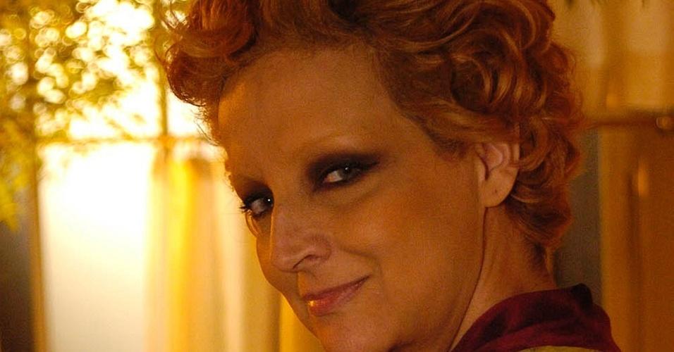 """Betty Lago em cena de """"Cinquentinha"""" (dez/2009)"""