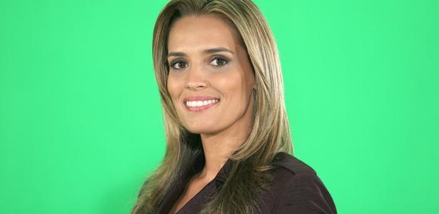 Karyn Bravo, uma das apresentadoras do SBT