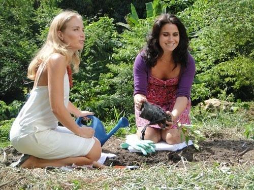 Angélica e Giovanna Antonelli gravam para o