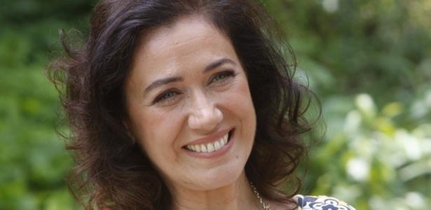 Lilia Cabral na coletiva de apresentação do seriado