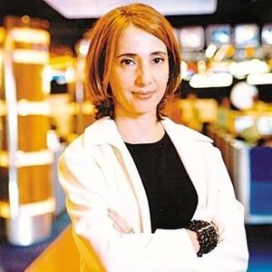 A apresentadora Maria Cristina Poli (02/11/2002)