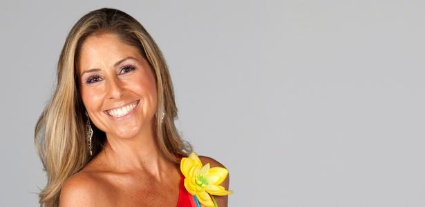 A apresentadora Patrícia Maldonado (2011)
