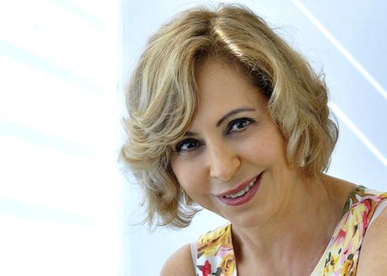 A atriz Stella Freitas (5/3/2011)