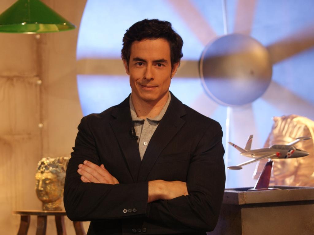 O ator e agora apresentador do programa
