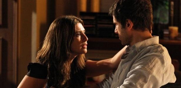 Fernanda Paes Leme e Eriberto Leão em cena de