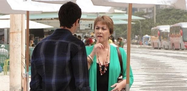 Nívea Maria e Gabriel Braga Nunes em cena de