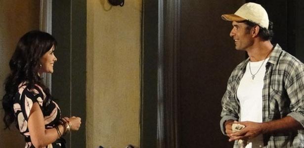 Vanessa Giácomo e Marcos Pasquim em cena de