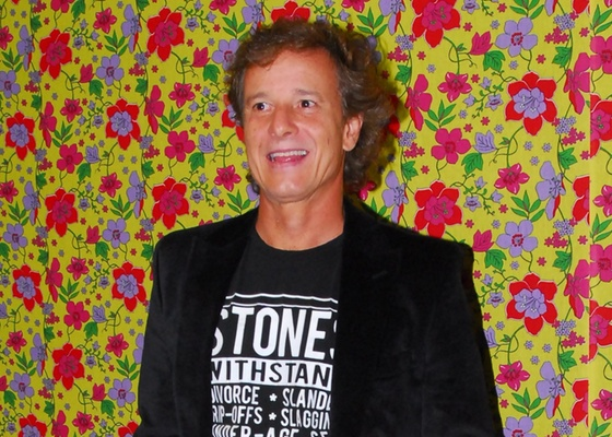 """O ator Marcelo Novaes durante festa de lançamento de """"Cordel Encantado"""" em uma casa noturna de São Paulo (7/4/2011)"""