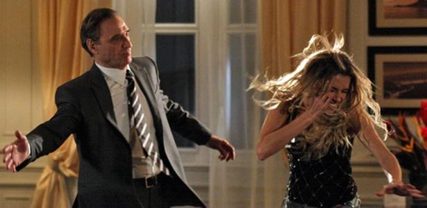 Herson Capri e Deborah Secco em cena de