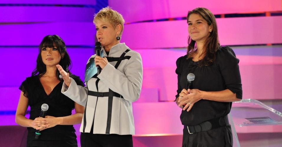 Daniele Suzuki e Priscila Fantin participam do quadro