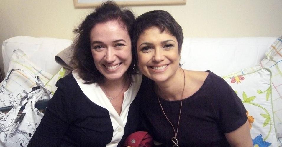 Lilia Cabral é entrevistada por Sandra Annemberg no