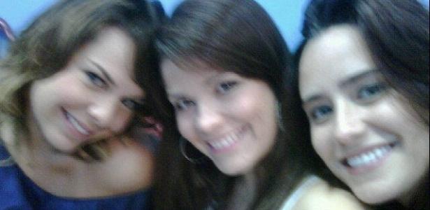 Fernanda Souza, Samara Felippo e Fernanda Vasconcellos nos bastidores do