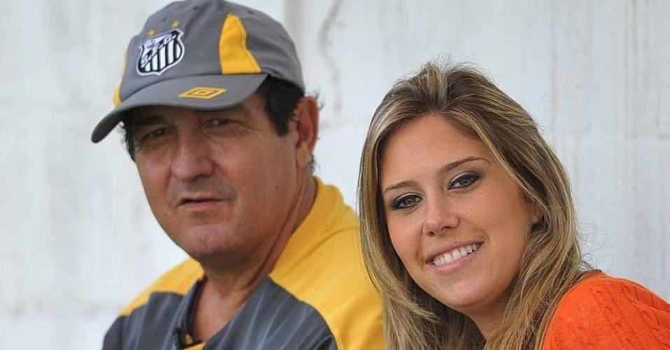 Gabriela Pasqualin faz uma entrevista exclusiva com o técnico Muricy Ramalho (2011)