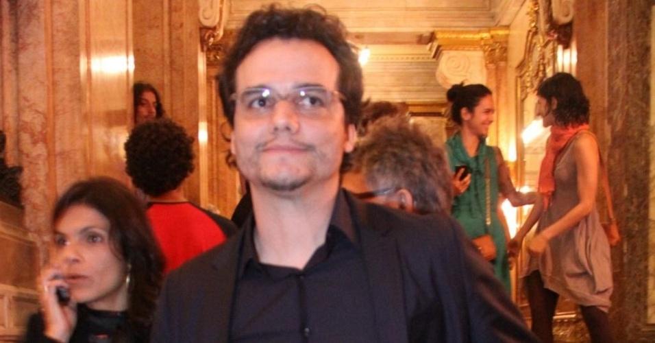 Wagner Moura no Theatro municipal do rio de Janeiro (5/4/11)