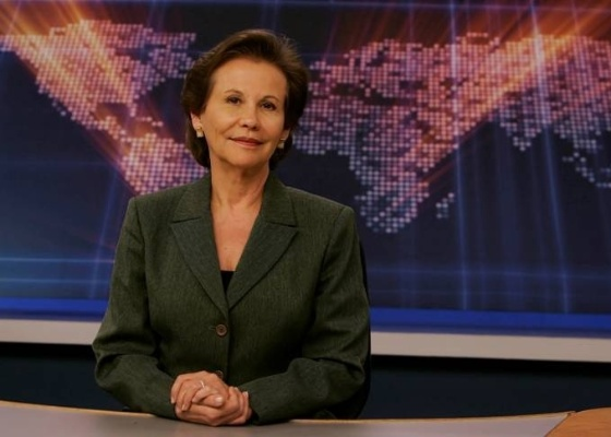 Maria Lydia Flandoli vai reestrear na TV Gazeta