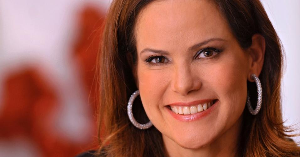 A apresentadora Renata Ceribelli