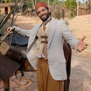 Mouhamed Harfouch em cena de Cordel Encantado (maio/2011)