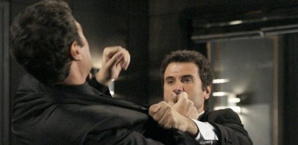 Garbriel Braga Nunes e Eriberto Leão em cena de