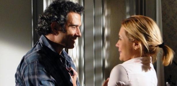 Abner e Julia reconciliação Morde e Assopra