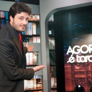 """Danilo Gentili no programa """"Agora é tarde"""", que estreou em 2011 - Luciano Trevisan / Band"""