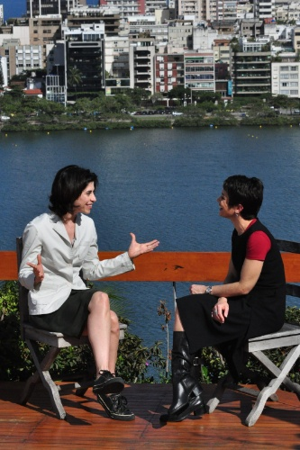 Sandra Anneberg entrevista.