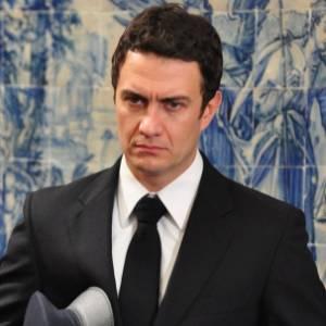 Gabriel Braga Nunes em cena de Insensato Coração (julho/2011)