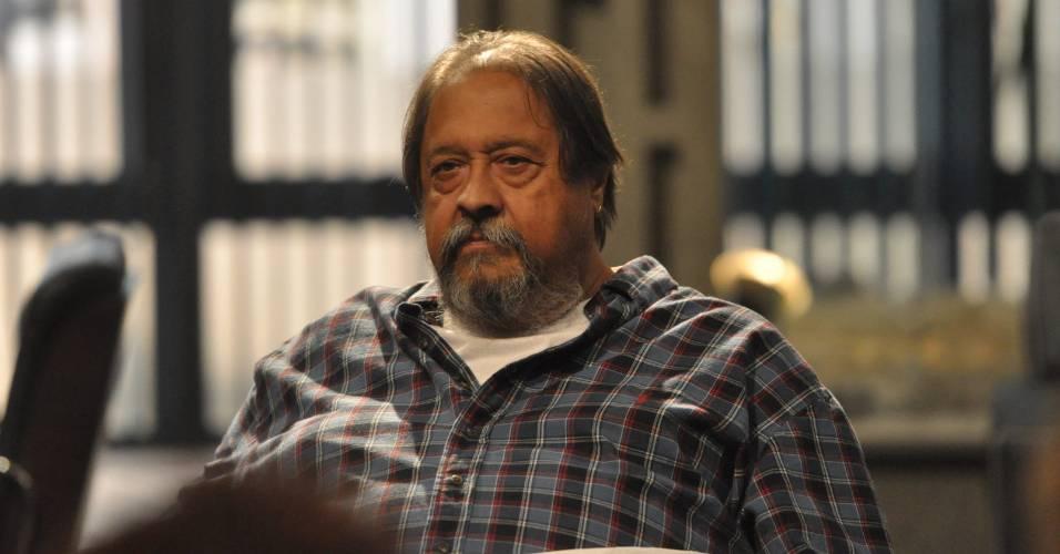"""Diretor Roberto Talma na coletiva de imprensa de """"O Astro"""" no Rio de Janeiro (21/6/2011)"""