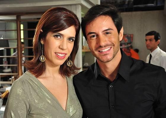 Maria Clara Gueiros e Ricardo Tozzi em cena de Insensato Coração (junho/2011)