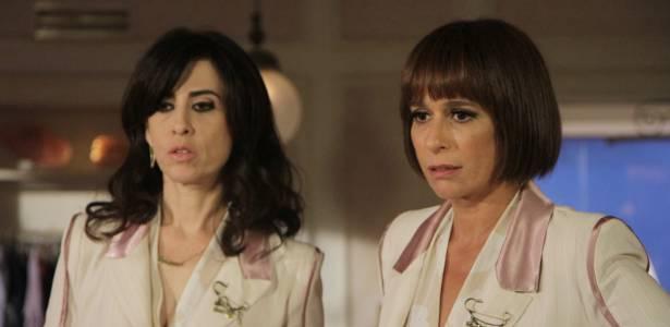 """Fernanda Torres e Andrea Beltrão em cena de """"Tapas e Beijos"""" (9/8/2011)"""