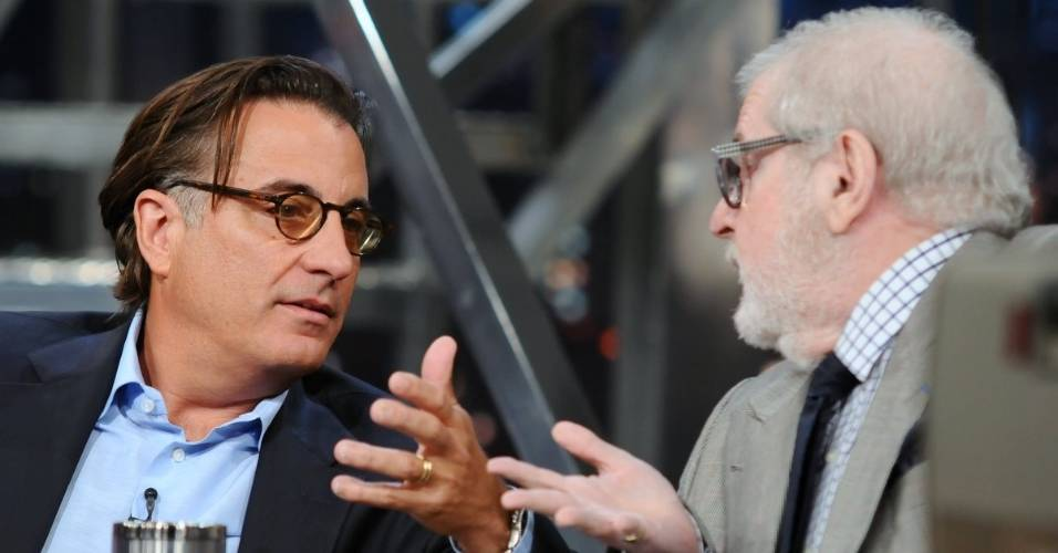 O ator Andy Garcia participa do