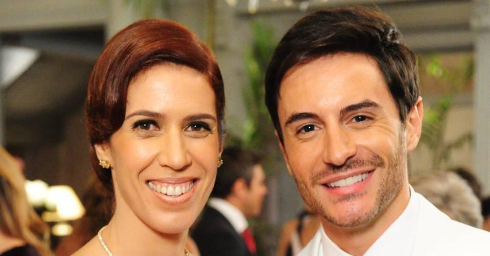 """Maria Clara Gueiros e Ricardo Tozzi em cena de """"Insensato Coração"""" (15/8/2011)"""