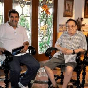 Ratinho entrevista Roberto Bolaño em sua casa no México (agosto/2011)