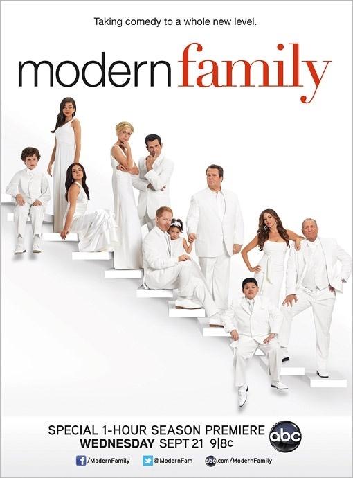 """Foto da terceira temporada de """"Modern Family"""" (ago/2011)"""