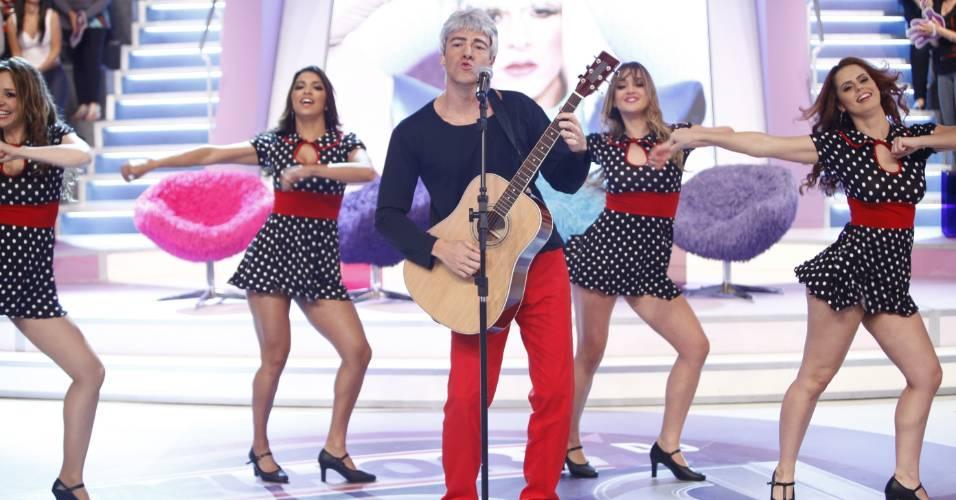 Rodrigo Faro imita Lulu Santos em