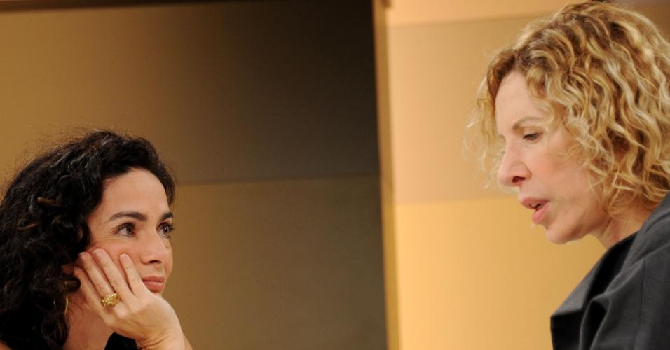 """Claudia Ohana é entrevistada por Marília Gabriela no """"Marília Gabriela Entrevista"""" (setembro/2011)"""