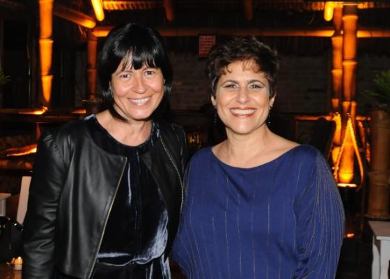 Thelma Guedes e Duca Rachid no lançamento de Cordel Encantado (2011)