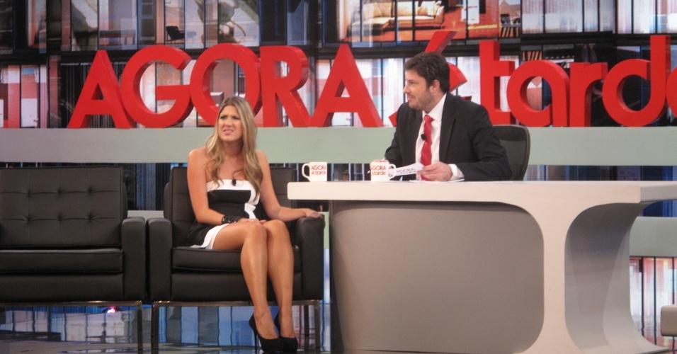 Danilo Gentili entrevista Dani Calabresa no