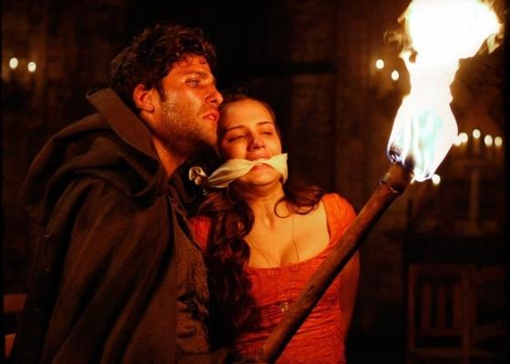 Somente no penúltimo capítulo, depois de inúmeras idas e vindas, o vilão Timóteo perdeu a princesa Açucena para o mocinho Jesuíno