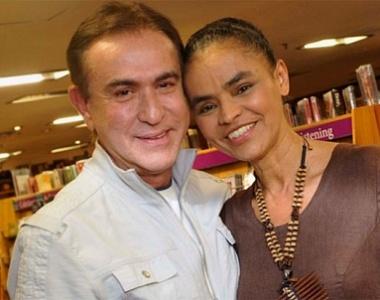 Amaury Jr. entrevista Marina Silva no
