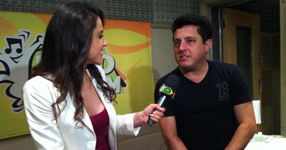 Nadja Haddad entrevista o cantor sertanejo Bruno no