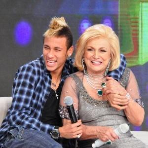 Neymar participa da Roda de Mulheres no programa da Hebe (1/11/2011)