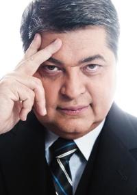 O apresentador José Luiz Datena
