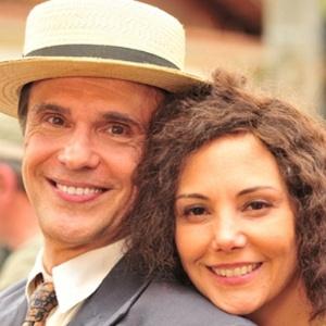Fernando Eiras e Heloísa Perissé gravam série sobre Dercy Gonçalves (outubro/2011)