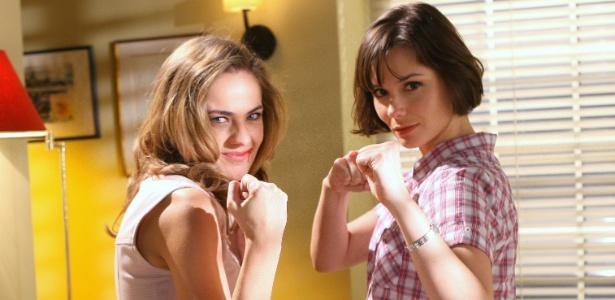 Thaís Pacholek e Graziella Schmitt decidem disputar o personagem de Cláudio Lins, com direito a socos, pontapés e puxão de cabelos... (17/11/11)