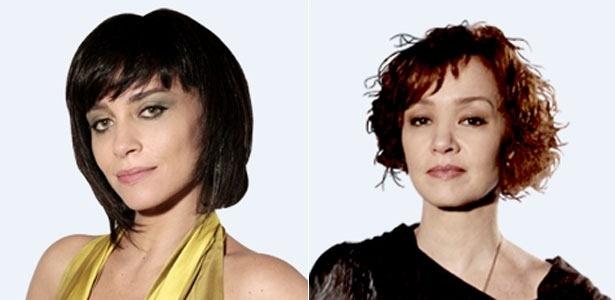 As atrizes Suzana Pires e Júlia Lemmertz, que interpretam, respectivamente, as personagens Marcela e Esther em