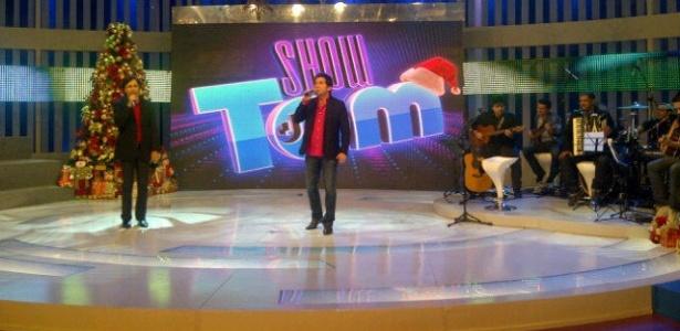 Depois de romper contrato com a Record, Tom Cavalcante grava especial de Natal (18/11/11)