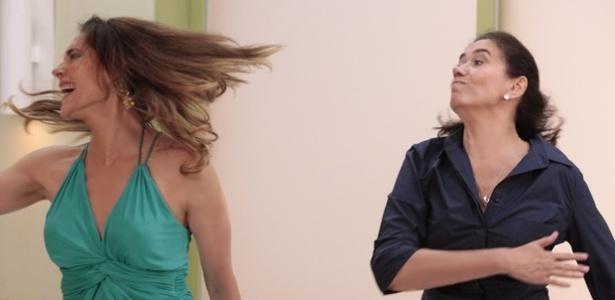 Griselda (Lilia Cabral) dá um tapa na cara de Teresa Cristina (Christiane Torloni) no hospital, após Patrícia (Adriana Birolli) perder o bebê. A cena foi ao ar em novembro.