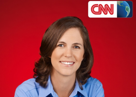 Shasta Darlington, correspondente da CNN no Brasil